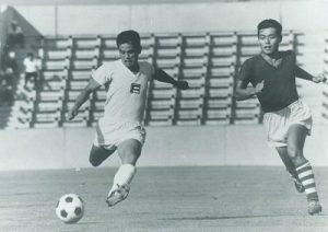 川淵三郎のサッカー選手時代