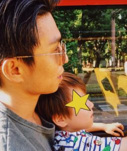 仲里依紗の子供の茶髪